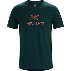 Arc'teryx Arc'Word Miehet Lyhythihainen paita , petrooli
